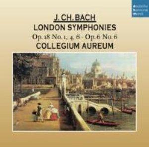Johann Christian Bach: Londoner Sinfonien