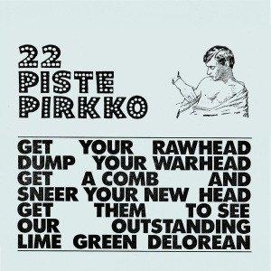 Lime Green Delorean