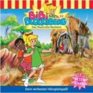 Bibi Blocksberg 62. Das feuerrote Nashorn. CD