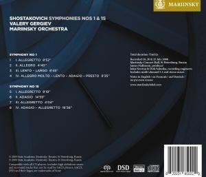 Sinfonien 1 & 15