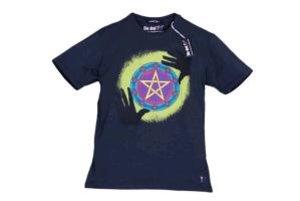 T-Shirt L Magischer Kreis