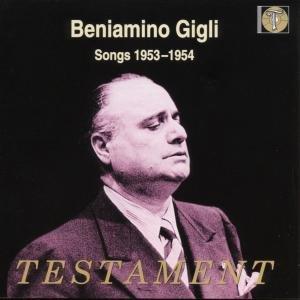 Beniamino Gigli-Songs 1953-1954