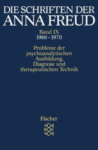 Die Schriften der Anna Freud 09