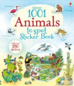 Usborne 1001 Animals to Spot Sticker Book