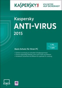 Kaspersky Anti-Virus 2015 (FFP)