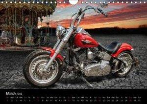 Motorbike Dreams (Wall Calendar 2015 DIN A4 Landscape)
