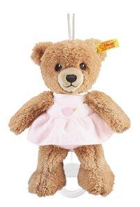 Steiff 239540 - Schlaf-gut-Bär Spieluhr, rosa, 20 cm