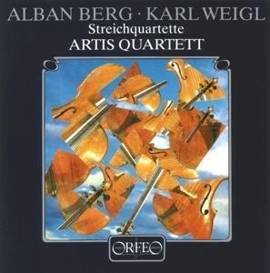 Streichquartette op.4/op.3/Lyrische Suite (1926)