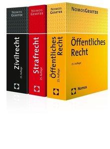 Zivilrecht - Öffentliches Recht - Strafrecht. 3 Bände