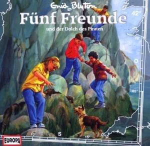 Fünf Freunde 42 und der Dolch des Piraten. CD