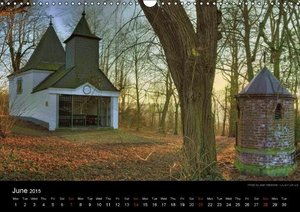 Monuments of Belgium and Luxembourg 2015 (Wall Calendar 2015 DIN