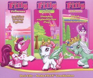 FILLY 3er Box Princess-Fairy-Unicorn