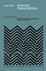 Advanced Spatial Statistics