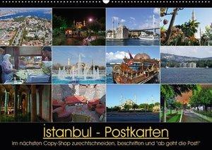 Istanbul Postkarten (Wandkalender 2017 DIN A2 quer)