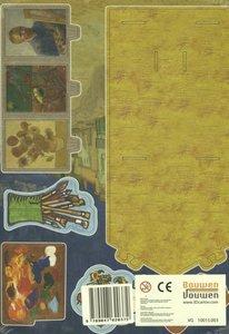 Het gele huis van Van Gogh, Bouwplaat / druk 1