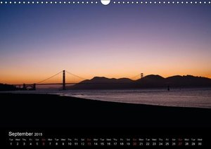 Sunrises and Sunsets / UK-Version (Wall Calendar 2015 DIN A3 Lan