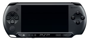 PSP Konsole / Playstation Portable (Version E 1000 / E1000) Blac