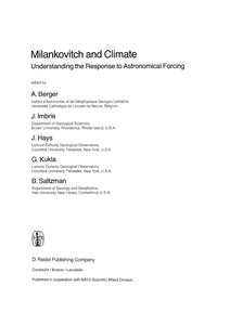 Milankovitch and Climate