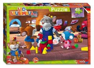 Leo Lausemaus - Puzzle 48tlg.