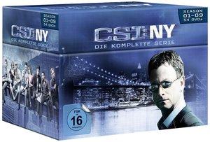 CSI: NY - Season 1-9 Komplettbox