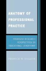 Anatomy of Professional Practice