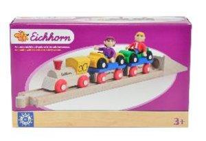 Eichhorn 100001361 - Schienenbahn, Autoverladezug, 10-teilig
