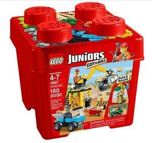 LEGO® Juniors 10667 - Starter Steinebox: Baustelle