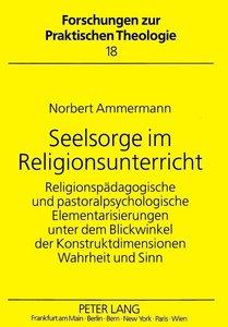 Seelsorge im Religionsunterricht