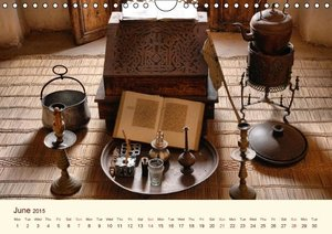 Morocco - North African Dreamscapes / UK-Version (Wall Calendar