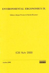 Environmental Ergonomics IX