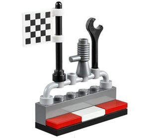 LEGO® Juniors 10673 - Große Steinebox: Ralley