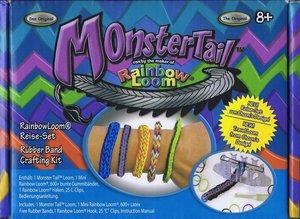 Rainbow Loom 21379 - Monster Tail, das Original, 600 Stück inkl.