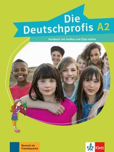 Die Deutschprofis A2. Kursbuch + Online-Hörmaterial