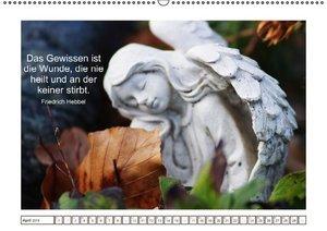 Engel-Kalender mit Zitaten / CH-Version (Wandkalender 2016 DIN A