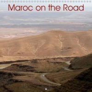 Maroc on the Road (Calendrier mural 2015 300 × 300 mm Square)