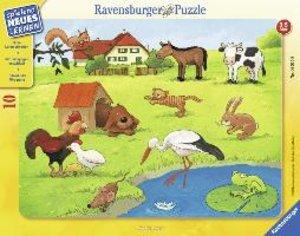 Wer frisst was? Rahmenpuzzle 10 Teile