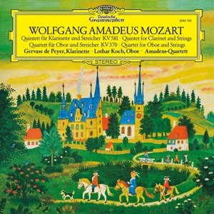 Klarinettenquintett/Oboenquartett (Vinyl)