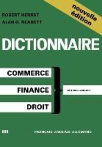 Dictionary of Commercial, Financial and Legal Terms / Dictionnai
