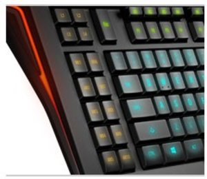 SteelSeries Gaming Tastatur Apex - schwarz