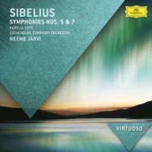 Sinfonien 5,7/Karelia Suite
