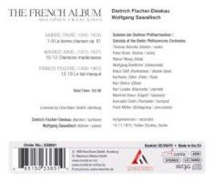 Dietrich Fischer-Dieskau: The French Album