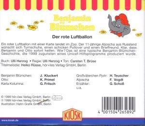 Benjamin Blümchen 089. Der rote Luftballon. CD