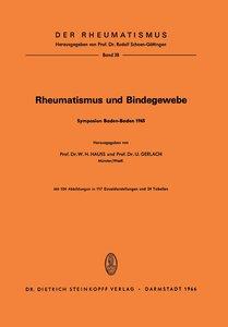 Rheumatismus und Bindegewebe