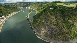 Rheingold-Gesichter eines Flusses BD