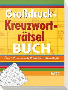 Großdruck-Kreuzworträtselbuch 3
