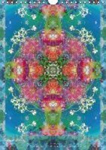 Ornements de Fleurs (Calendrier mural 2015 DIN A4 vertical)