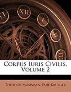 Corpus Iuris Civilis, Volume 2