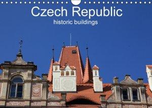 Czech Republic historic buildings (Wall Calendar 2015 DIN A4 Lan