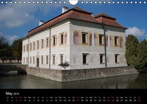 Czech Republic historic buildings (Wall Calendar 2015 DIN A4 Lan