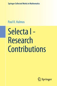 Selecta I - Research Contributions